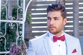 חליפת חתן: חליפה בצבע תכלת - ESPANOL אספניול אופנה וחתנים
