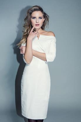 שמלת כלה מעור אוף שולדר