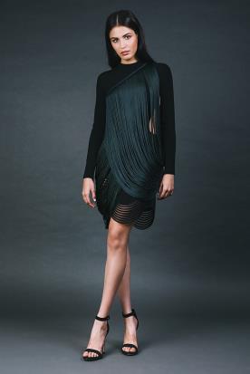 שמלה לערב פרנזים