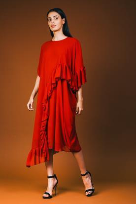 שמלת ערב מלמלות