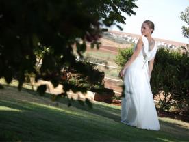 שמלת כלה - פרחים ונשיקות
