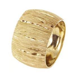 טבעת נישואין פסים דקים
