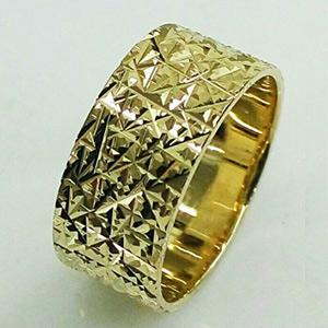 טבעת נישואין גיאומטרית לכלה