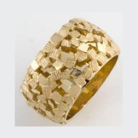 טבעת נישואין רחבה גיאומטרית