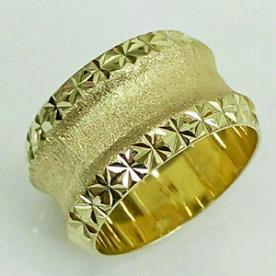 טבעת נישואין עם שקע