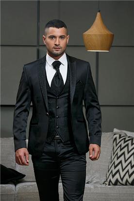 חליפה שחורה לחתנים