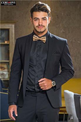 חליפות לחתנים שחור בז'