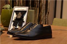 נעליים מעוצבות בצבע שחור