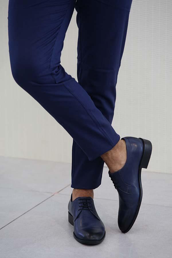 נעליים לחתן כחול נייבי