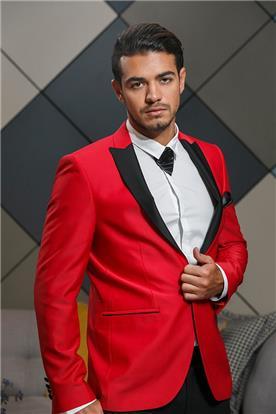 חליפה אדומה לאירועים