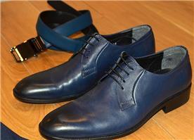 נעליים מעוצבות לגברים כחול ניייבי