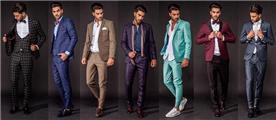 חליפות חתן במגוון צבעים