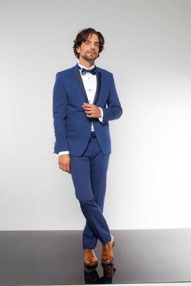 חליפת חתן כחול סקיני