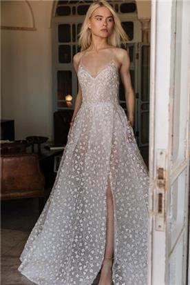 שמלה כלה בסגנון כפרי