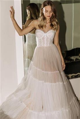 שמלה כלה מקסי