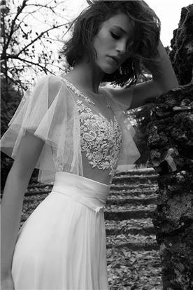 שמלת כלה מותן גבוה