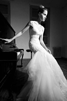 חתונה לבנה - שמלת כלה