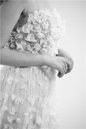 שמלת כלה סטרפלס