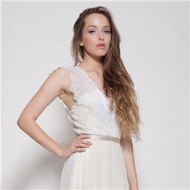 שמלת כלה קייצית אוורירית
