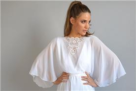שמלת כלה לדתיים עיצוב אורית ברזלי