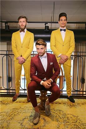 חליפות בצבעים נועזים