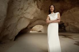 שמלת כלה תחרה ללוק אלגנטי