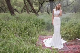 שמלת כלה מודרנית יפייפיה