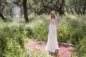 שמלת כלה עדינה יפייפיה