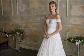 שמלת כלה רומנטית בהתאמה אישית