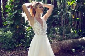 שמלת כלה למראה אלגנטי וצעיר