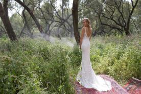 שמלת כלה בעיצוב קלאסי אלגנטי