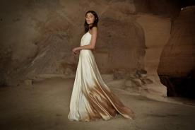 שמלת כלה מודרנית בעיצוב רך ונועז