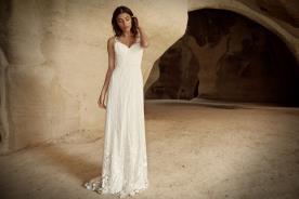 שמלה מחורזת ויפייפיה לכלה