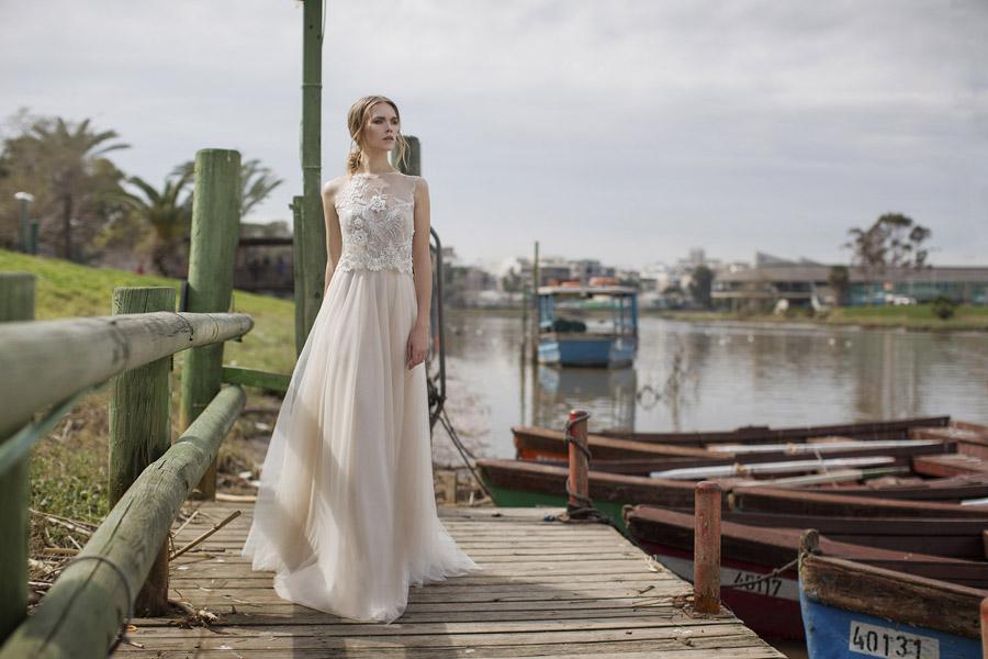 שמלת כלה נסיכתית אורבנית