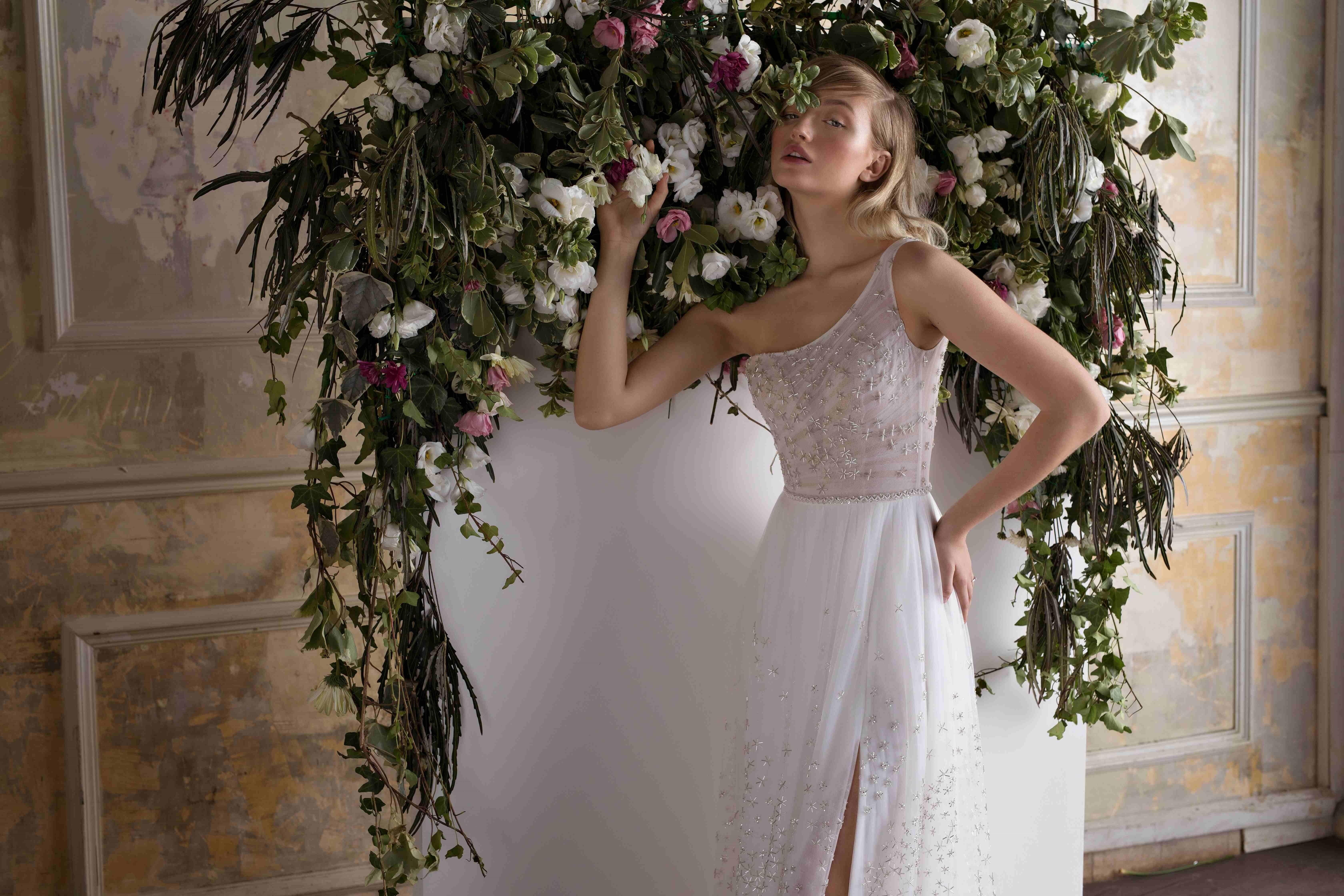 שמלת כלה מיוחדת בהתאמה אישית