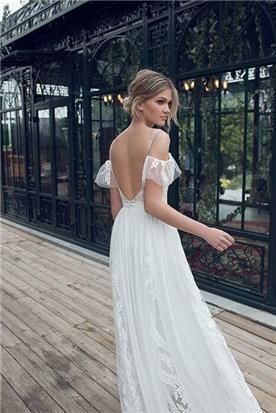 שמלת כלה 2019 עם גב פתוח