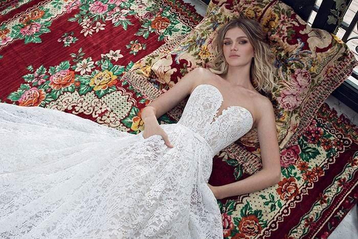 שמלת כלה 2019 סטרפלס