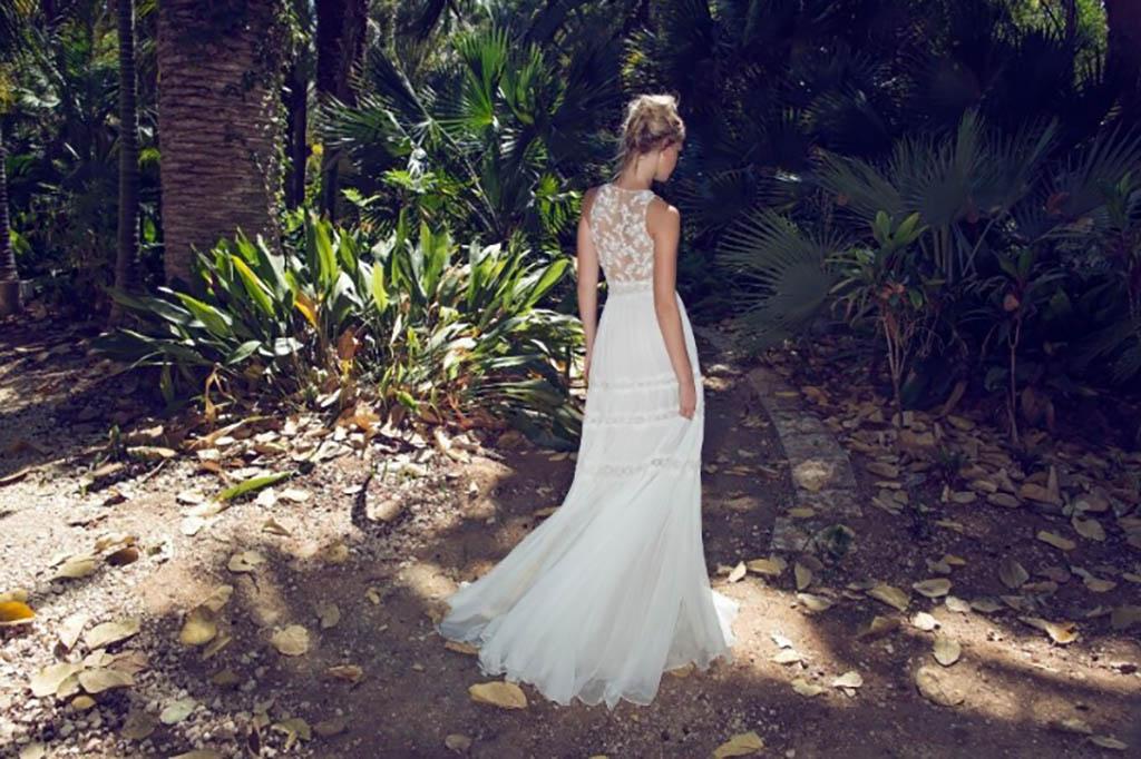 שמלת כלה קייצית למראה מודרני קליל