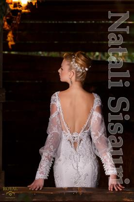 שמלת כלה בחלק אחד