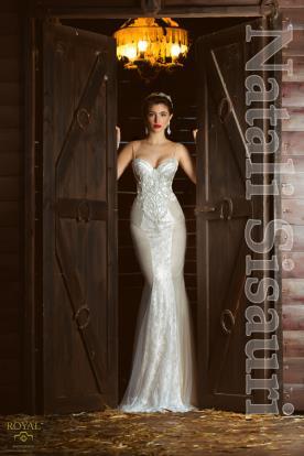 שמלת כלה צמודה ומתרחבת