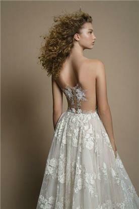 גליה להב שמלת כלה עם גב חשוף