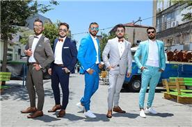 חליפות מעוצבות צבעוניות