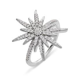 טבעת אירוסין בעיתוב כוכב