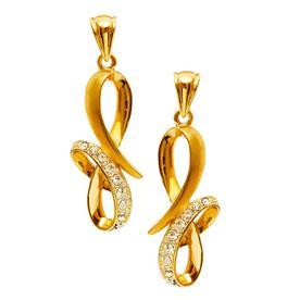 עגילי זהב בעיצוב מיוחד