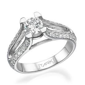 טבעת משובצת ביהלומים