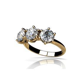 טבעת זהב בעיצוב מיוחד עם אבנים