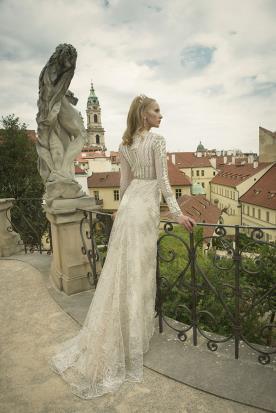 שמלת כלה שרוולים ארוכים
