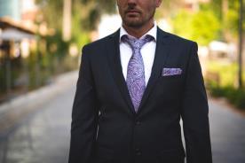 חליפת חתן- בלייזר עם כיסים צידיים