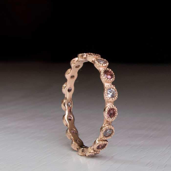 טבעת אלגנטית דקה