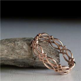 טבעת מעוצבת קלאסי בלי אבן